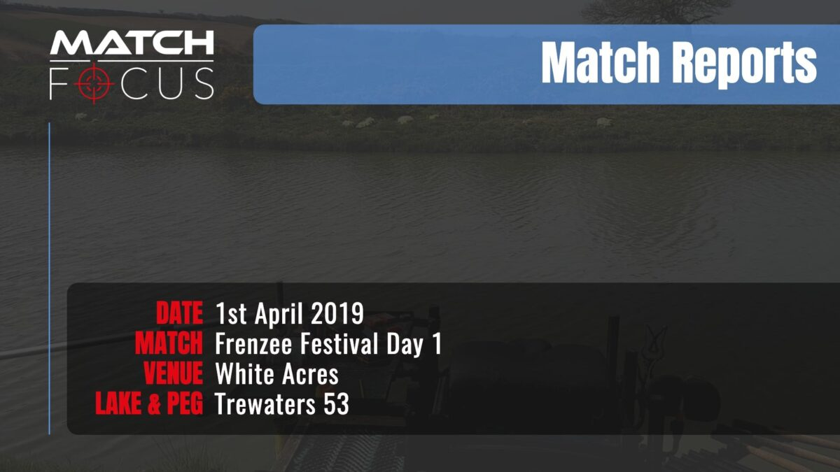 Frenzee Festival Day 1 – 1st April 2019 Match Report