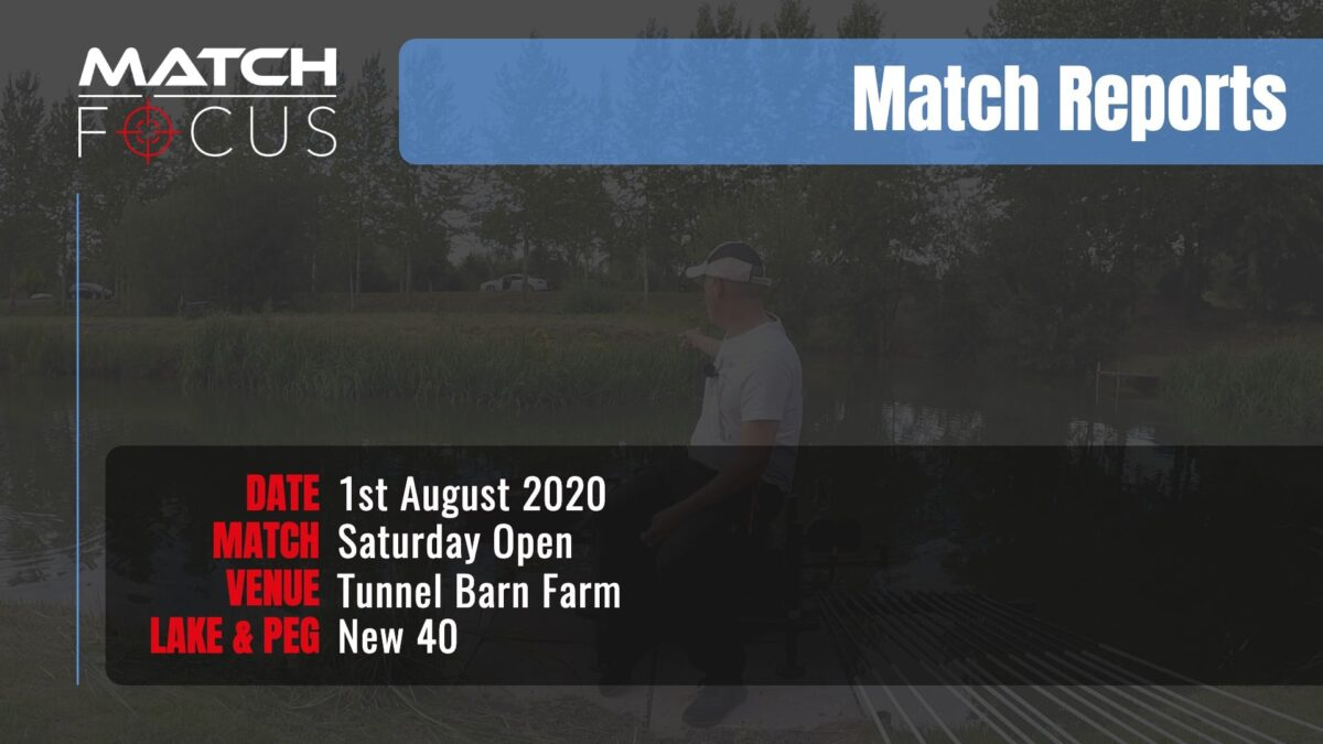 Saturday Open – 1st August 2020 Match Report