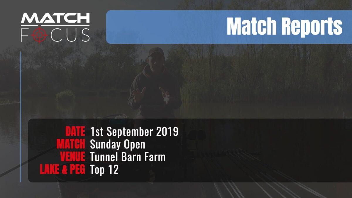 Sunday Open – 1st September 2019 Match Report