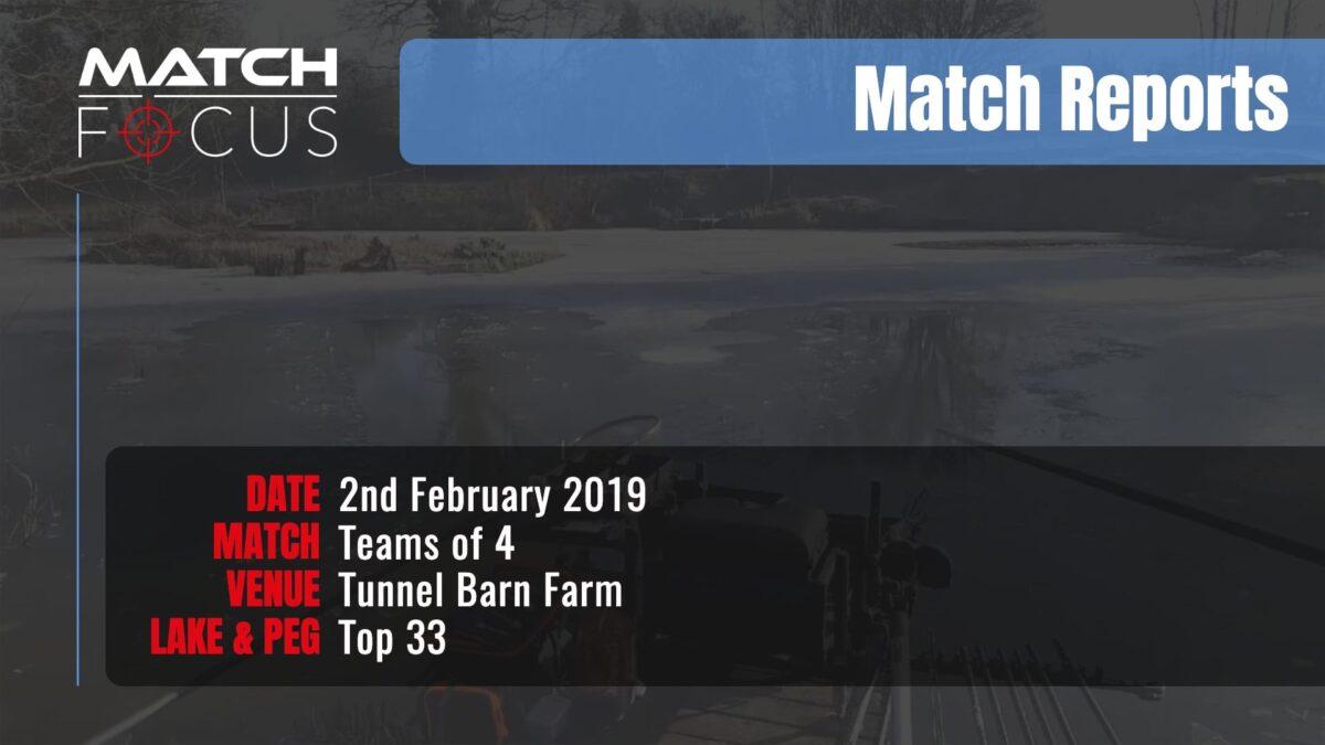 Saturday Teams 4 – 2nd February 2019