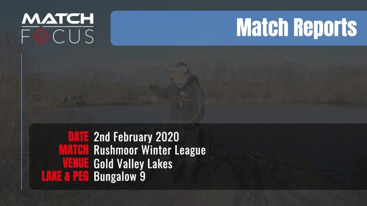 Sunday Rushmoor League R5 – 2nd February 2020 Match Report