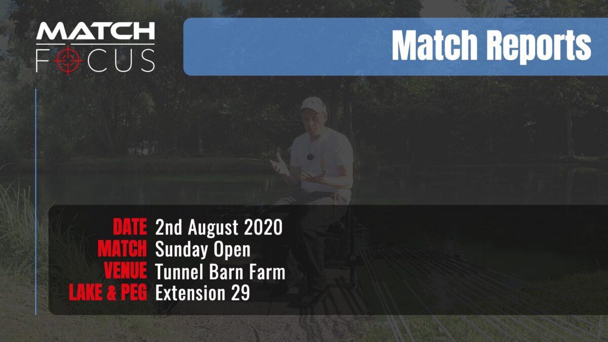Sunday Open – 2nd August 2020 Match Report