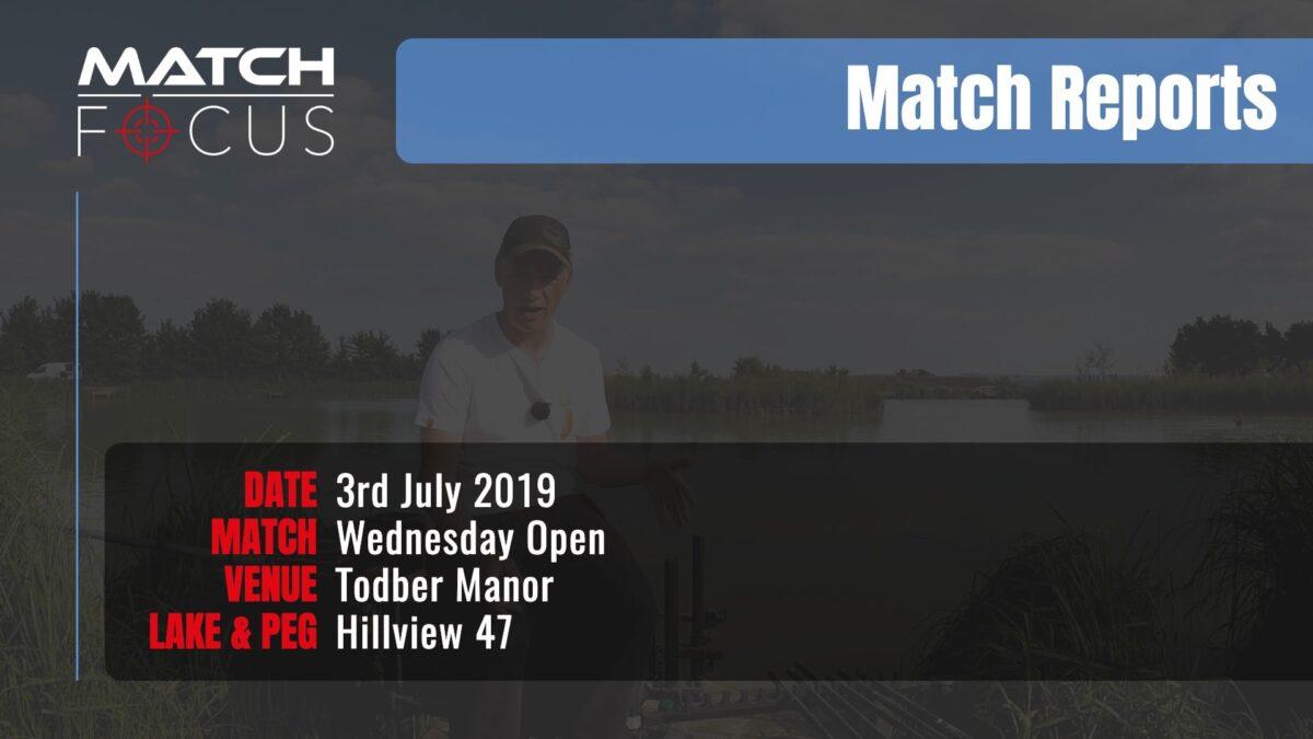 Wednesday Open – 3rd July 2019 Match Report