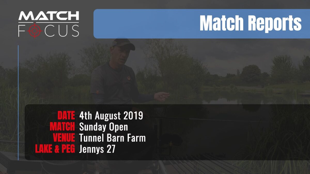 Sunday Open – 4th August 2019 Match Report