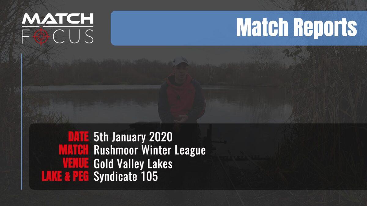Sunday Rushmoor League R1 – 5th January 2020 Match Report