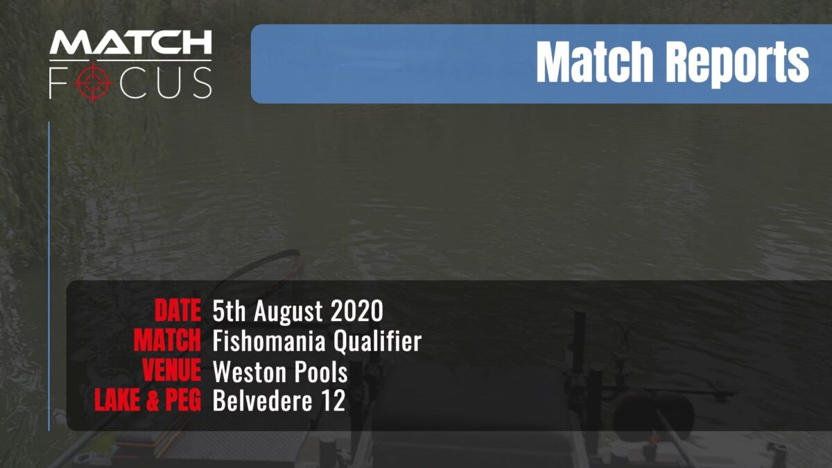 Fishomania Qualifier – 5th August 2020 Match Report