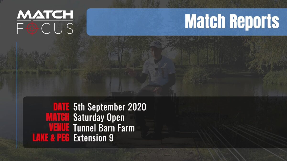 Saturday Open – 5th September 2020 Match Report