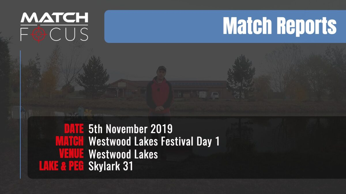 Westwood Festival Day 1 – 5th November 2019 Match Report