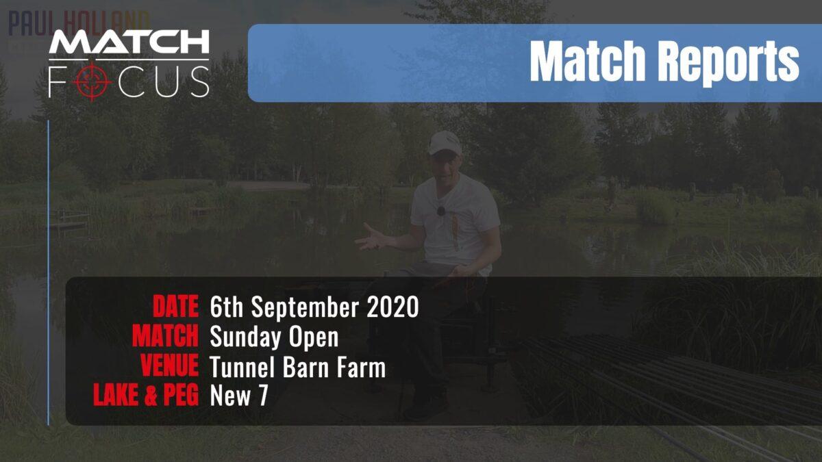 Sunday Open – 6th September 2020 Match Report