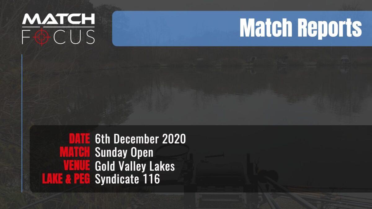 Sunday Open – 6th December 2020 Match Report