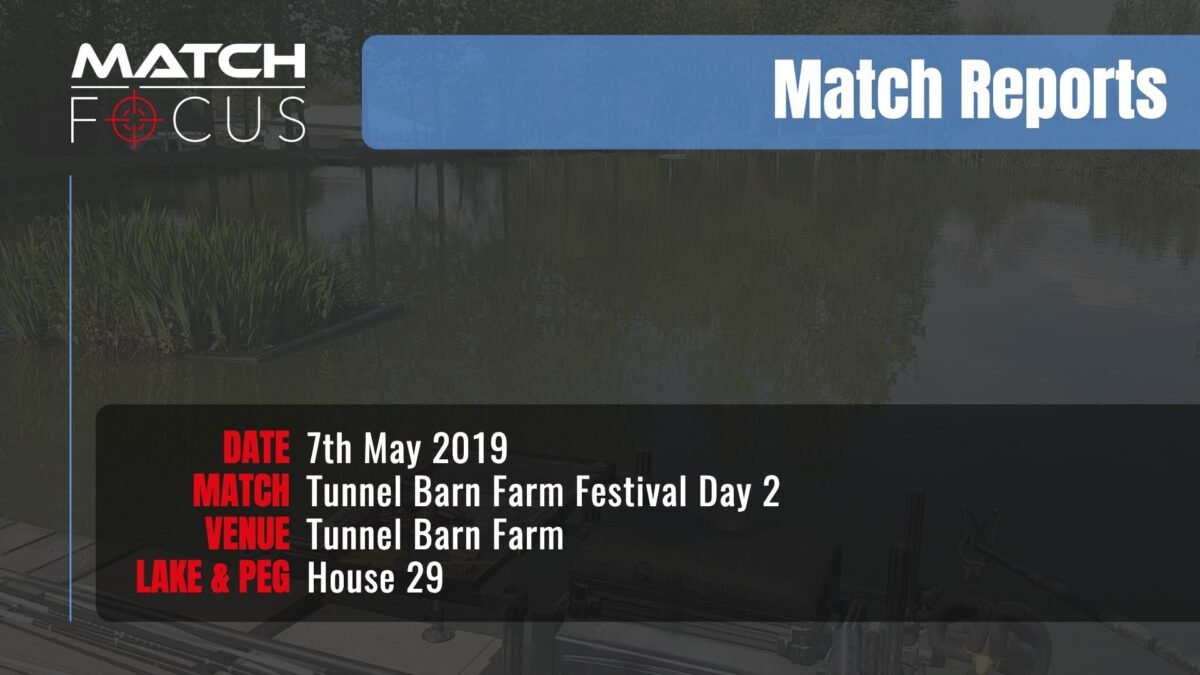 Tunnel Festival Day 2 – 7th May 2019 Match Report