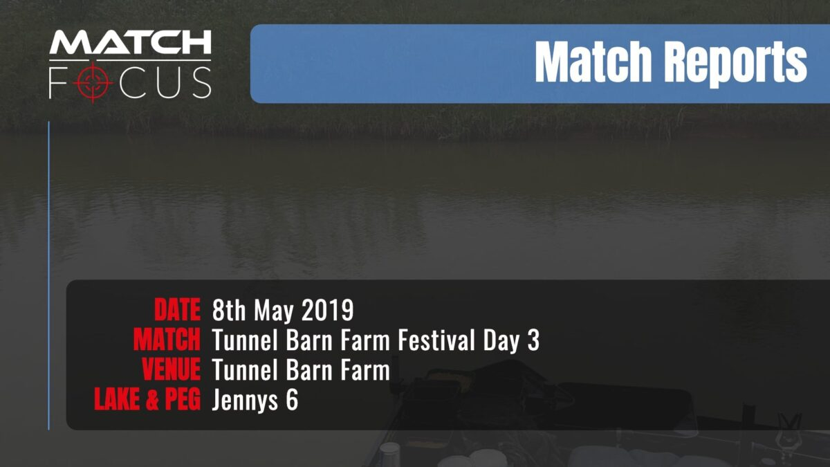 Tunnel Festival Day 3 – 8th May 2019 Match Report