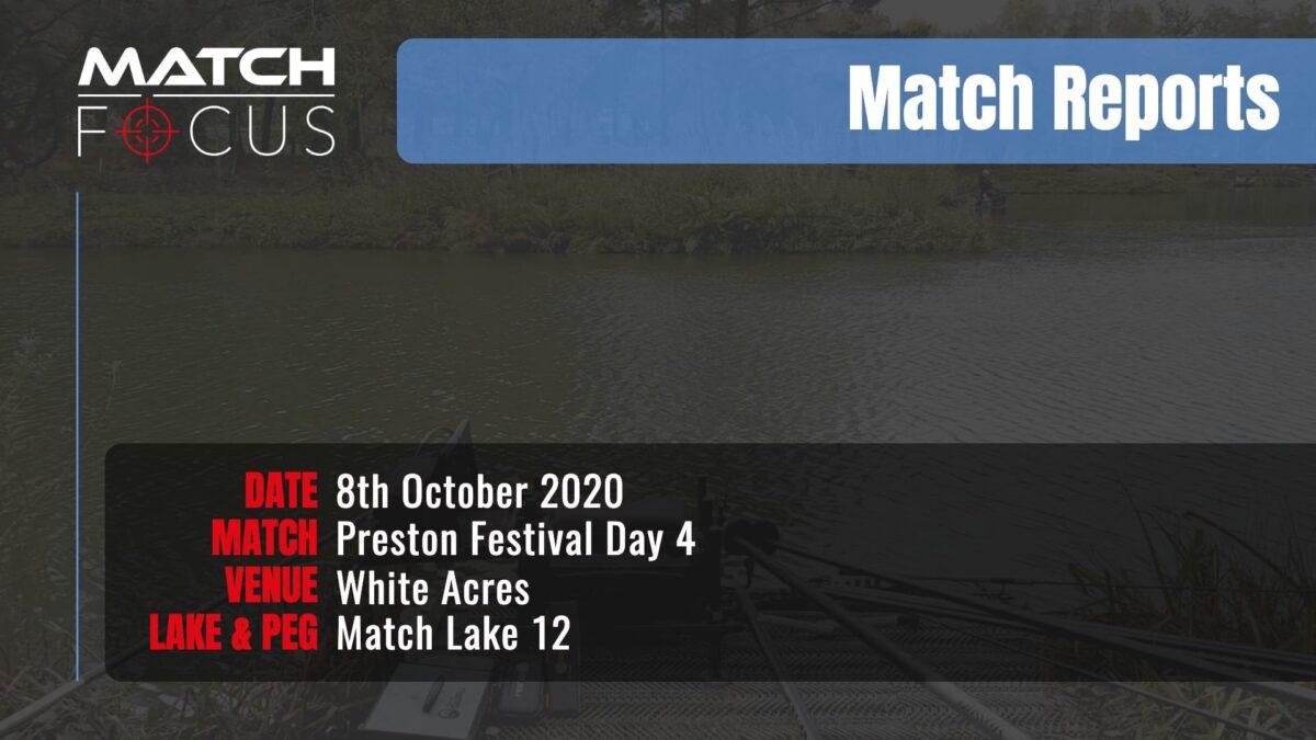 Preston Festival Day 4 – 8th October 2020 Match Report