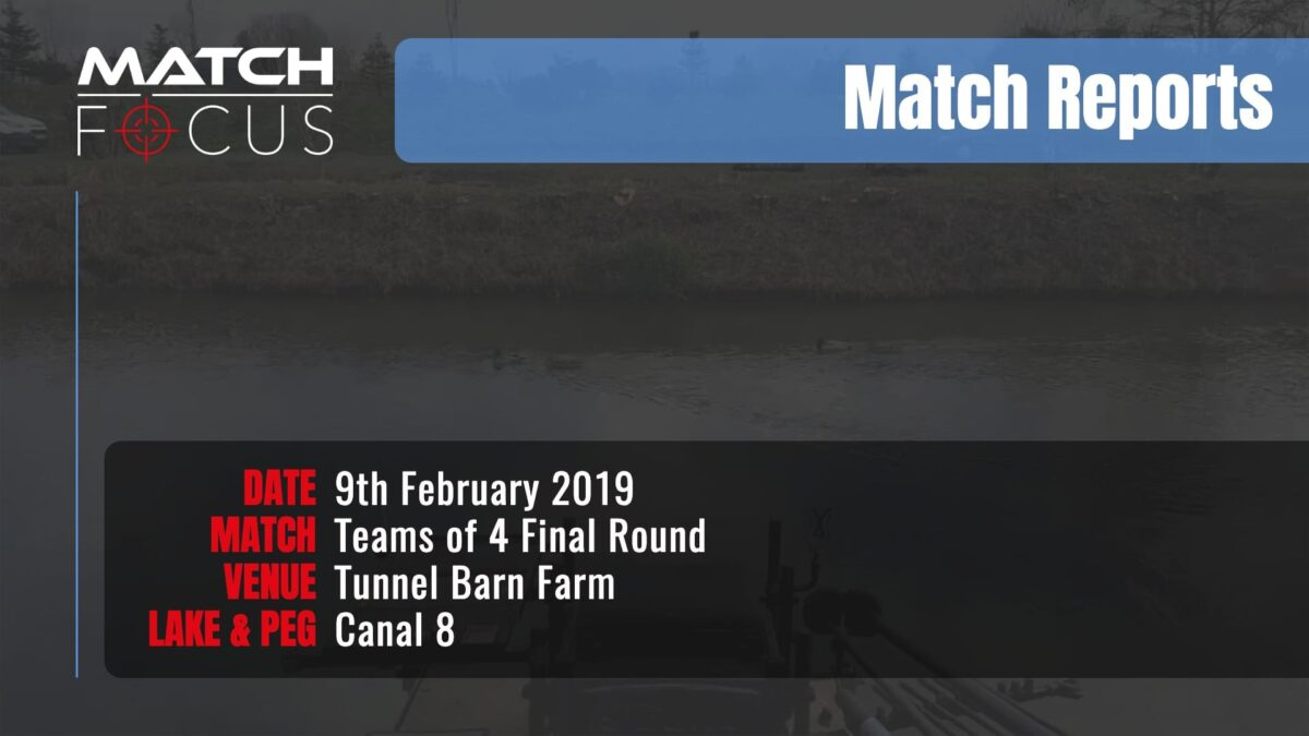 Saturday Final Round Teams 4 – 9th February 2019 Match Report