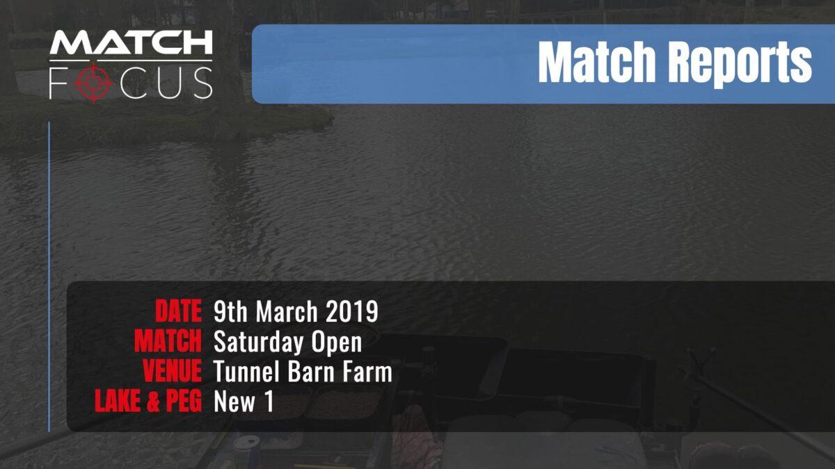 Saturday Open – 9th March 2019 Match Report