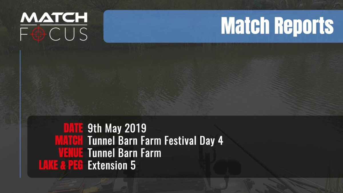 Tunnel Festival Day 4 – 9th May 2019 Match Report