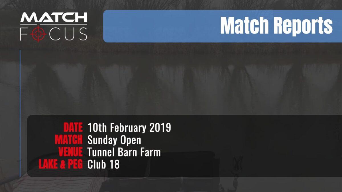 Sunday Open – 10th February 2019 Match Report