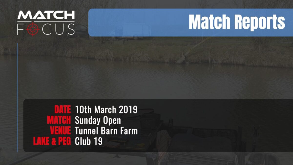 Sunday Open – 10th March 2019 Match Report