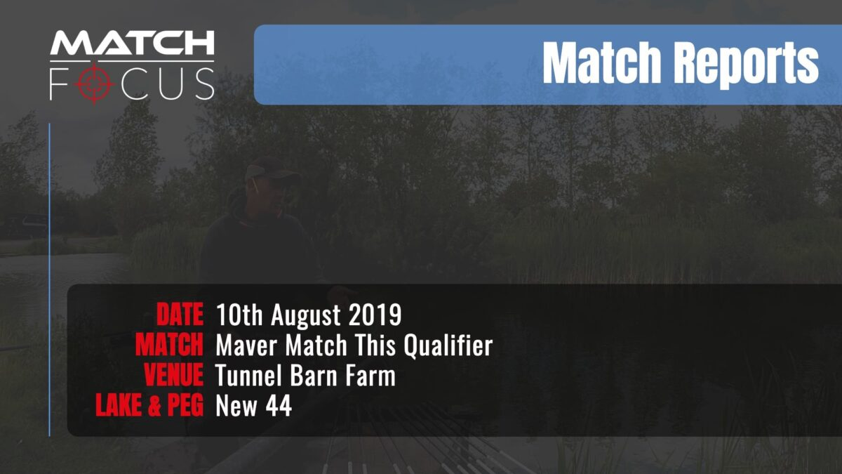 Maver Match This Qualifier – 10th August 2019 Match Report
