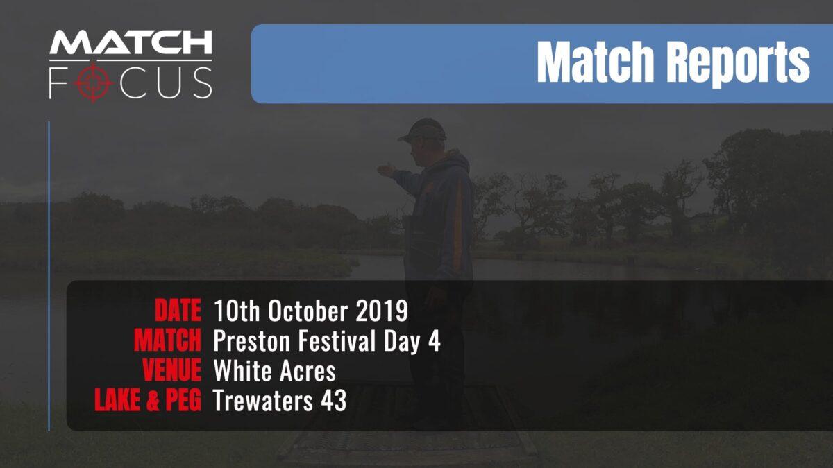 Preston Festival Day 4 – 10th October 2019 Match Report