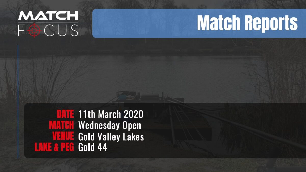 Wednesday Open – 11th March 2020 Match Report