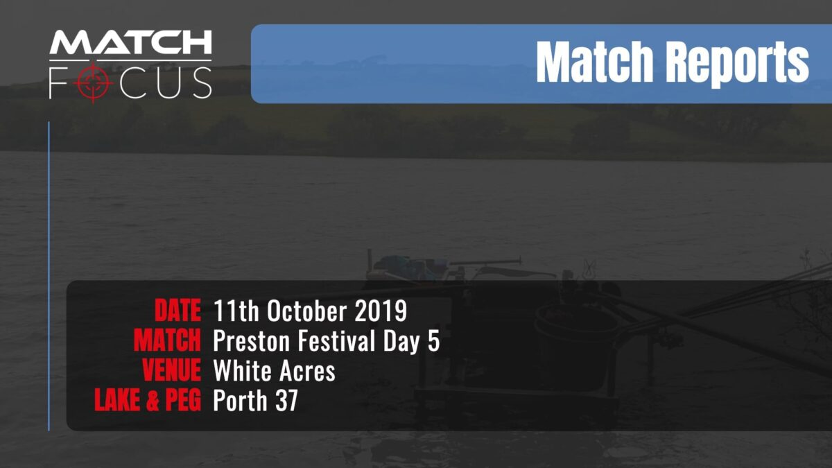 Preston Festival Day 5 – 11th October 2019 Match Report
