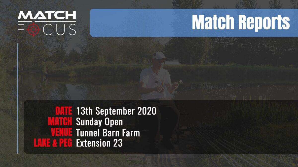 Sunday Open – 13th September 2020 Match Report
