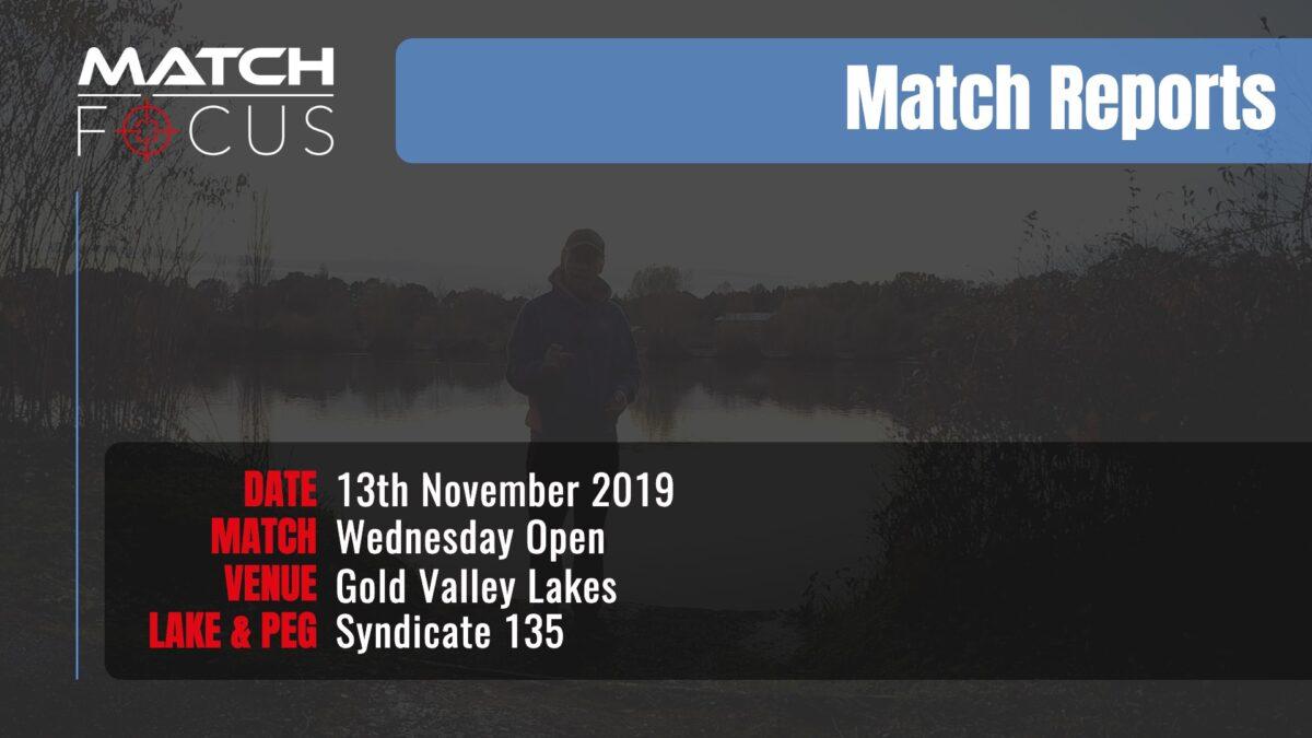 Wednesday Open – 13th November 2019 Match Report