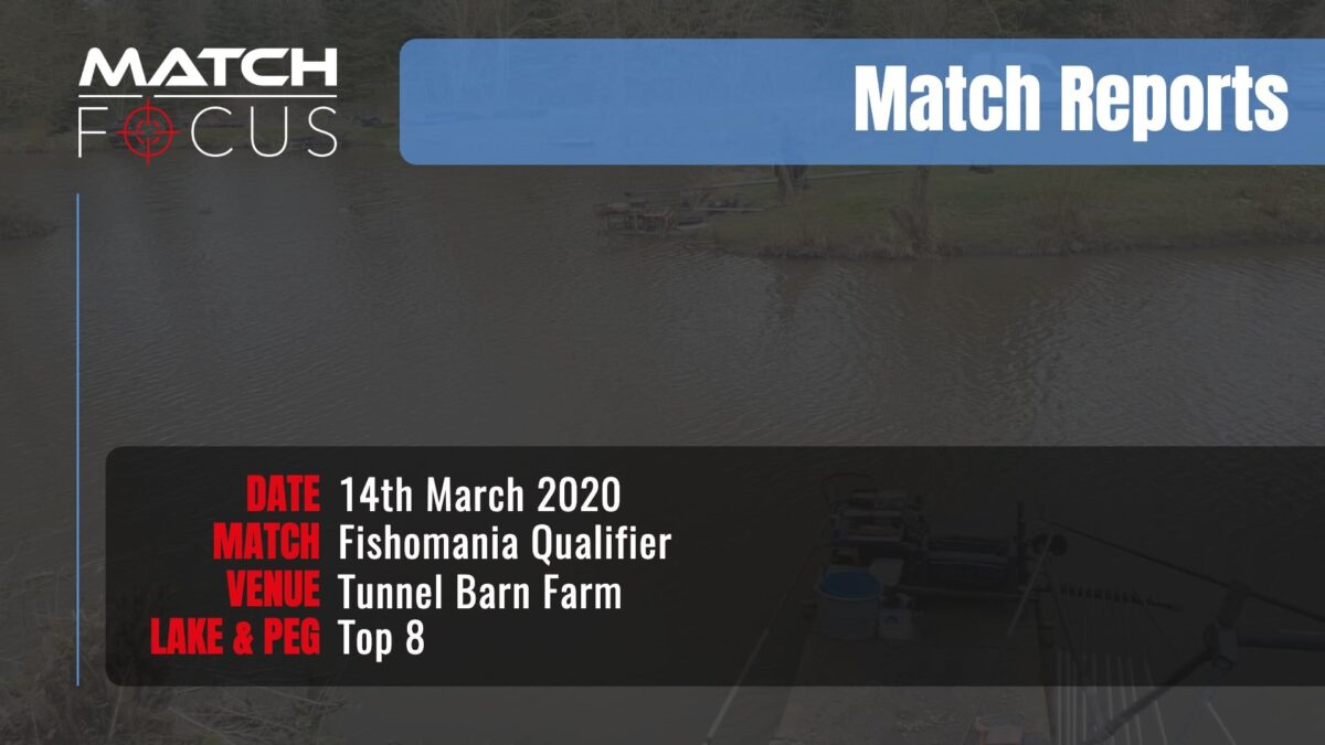 Fishomania Qualifier – 14th March 2020 Match Report