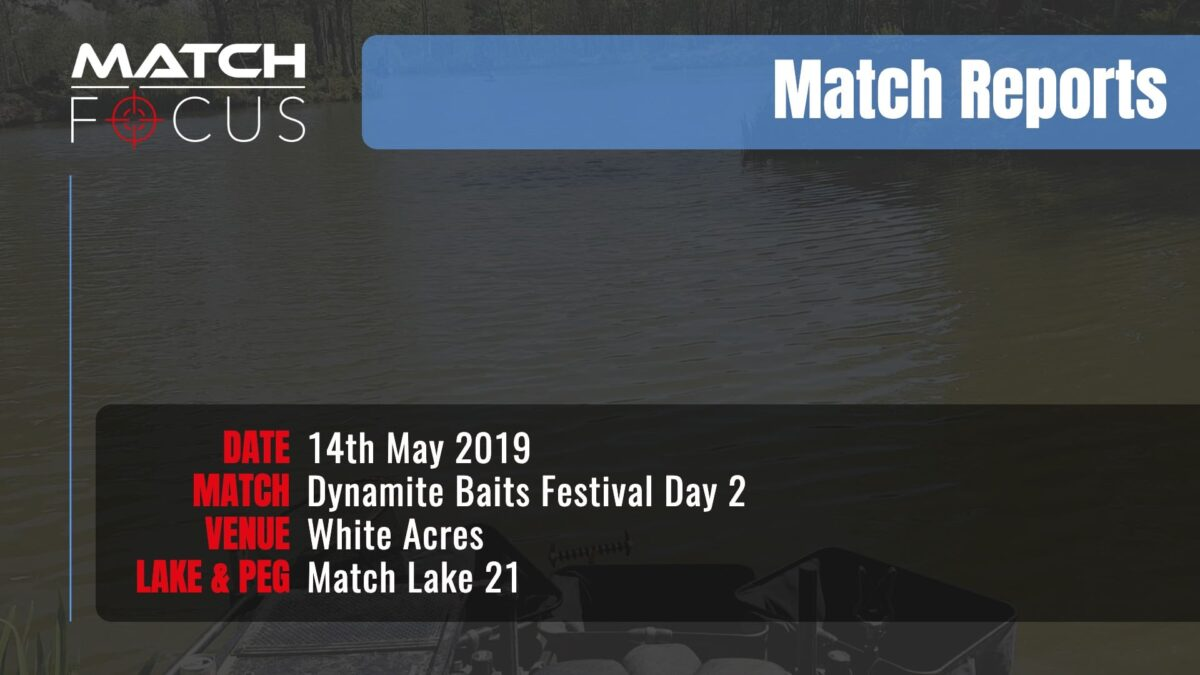 Dynamite Festival Day 2 – 14th May 2019 Match Report