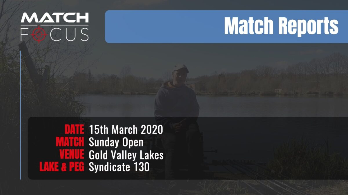Sunday Open – 15th March 2020 Match Report