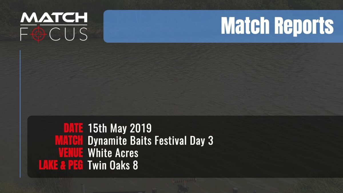 Dynamite Festival Day 3 – 15th May 2019 Match Report