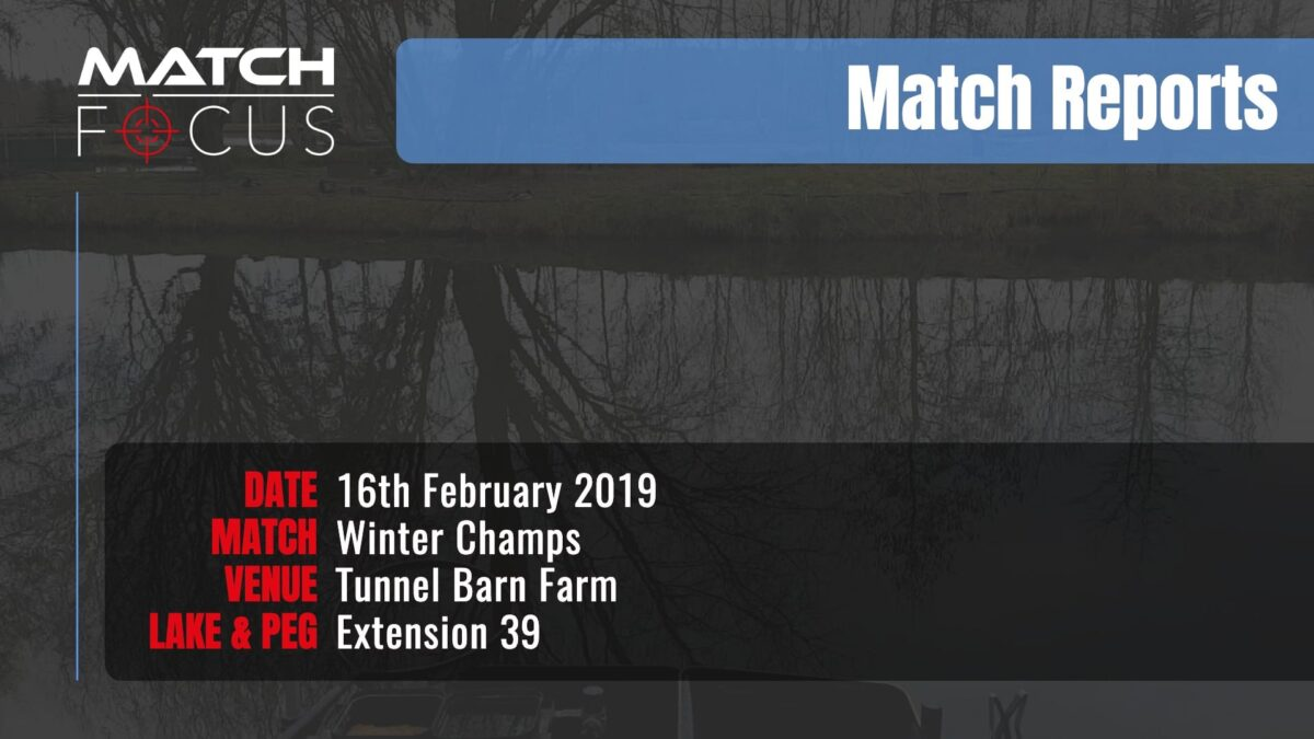 Saturday Winter Champs – 16th February 2019 Match Report