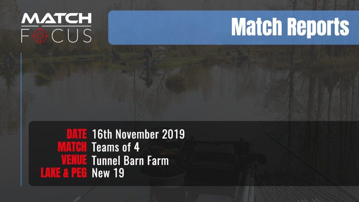 Saturday Round 3 Teams 4 – 16th November 2019 Match Report
