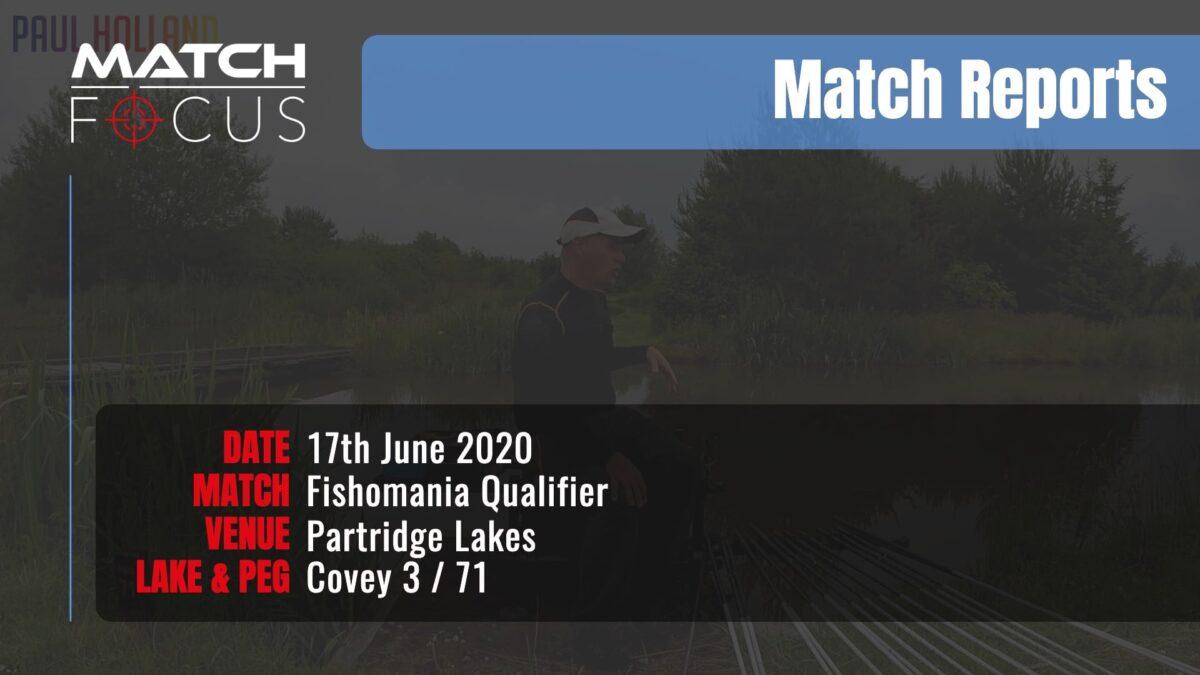 Fishomania Qualifier – 17th June 2020 Match Report