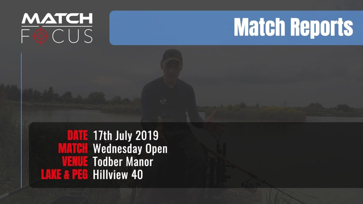 Wednesday Open – 17th July 2019 Match Report