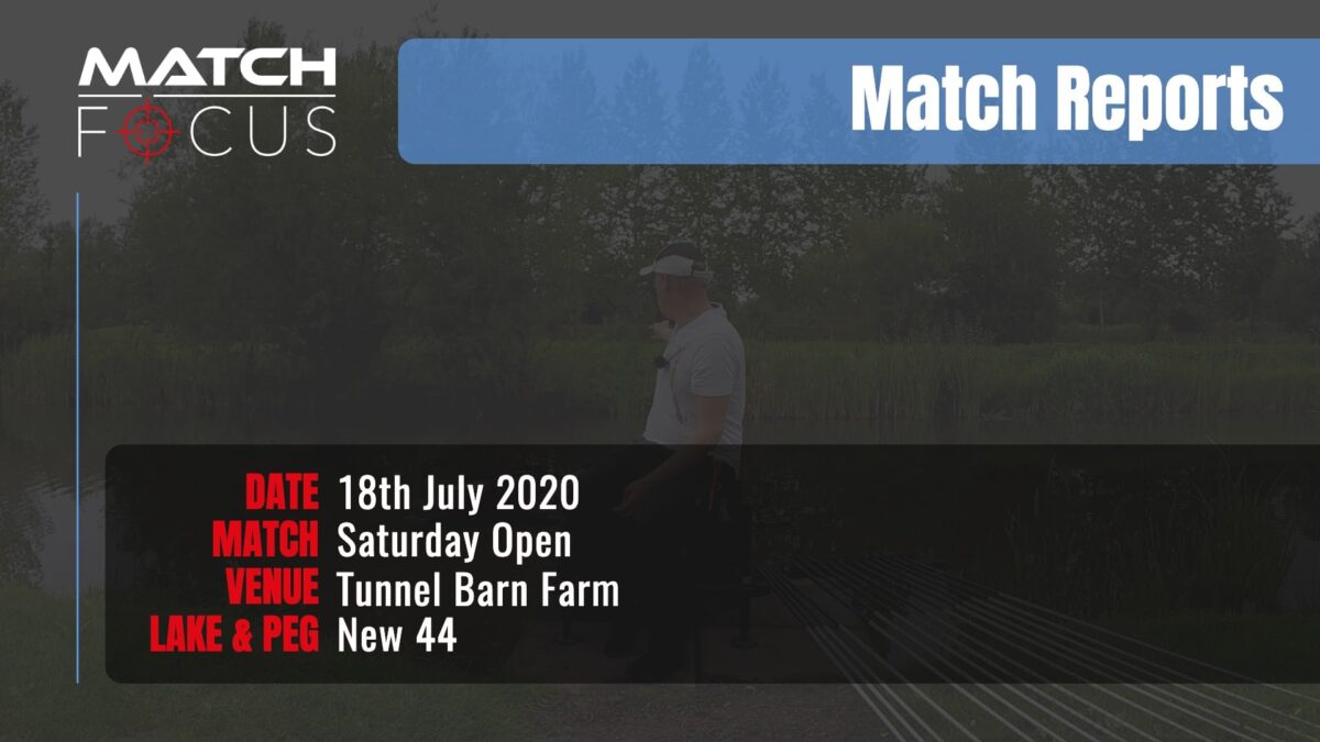 Saturday Open – 18th July 2020 Match Report