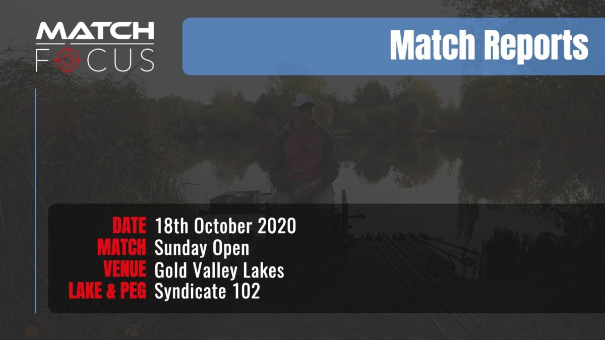 Sunday Open – 18th October 2020 Match Report