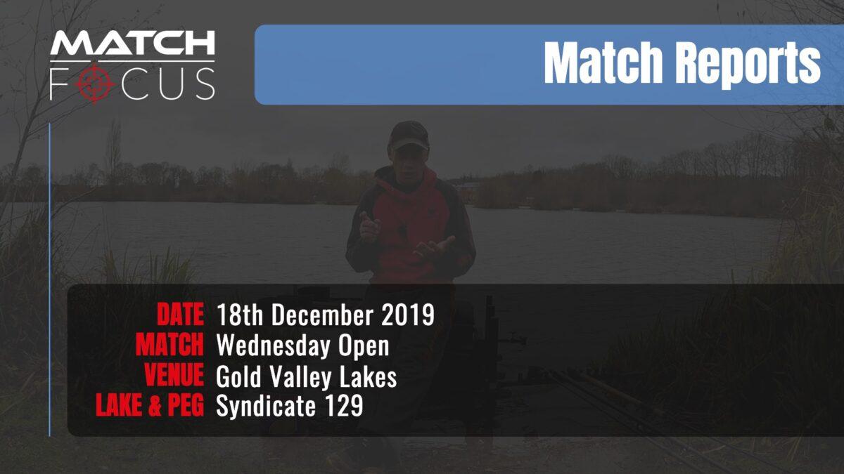 Wednesday Open – 18th December 2019 Match Report