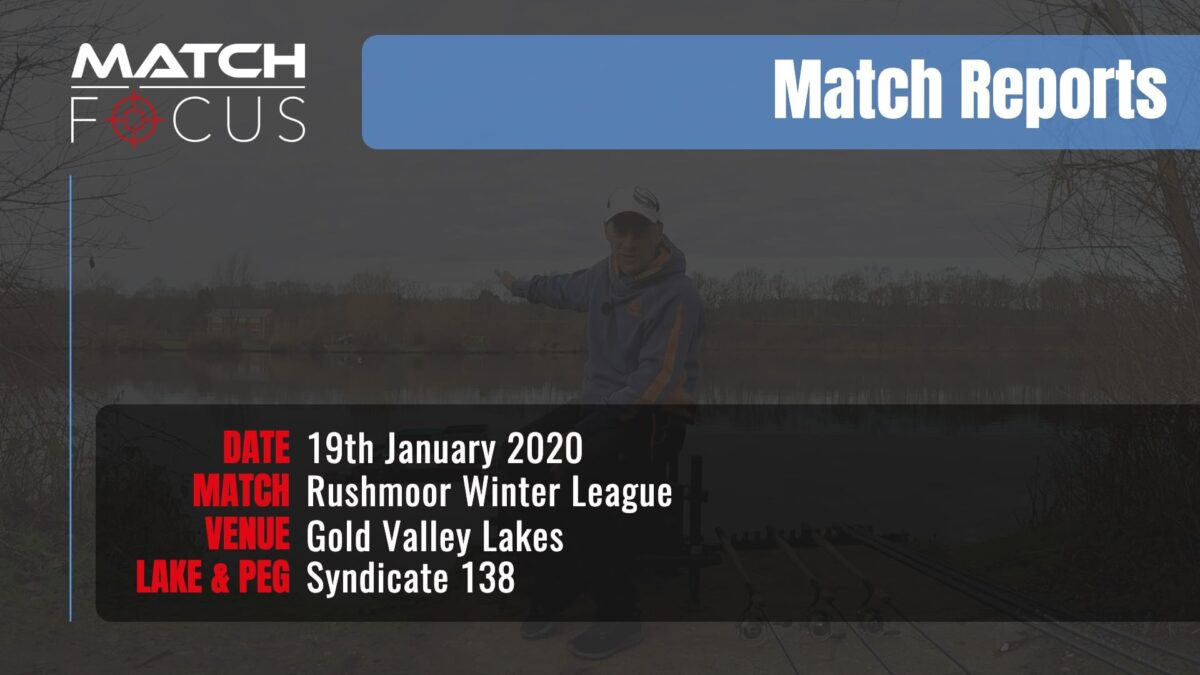 Sunday Rushmoor League R3 – 19th January 2020 Match Report
