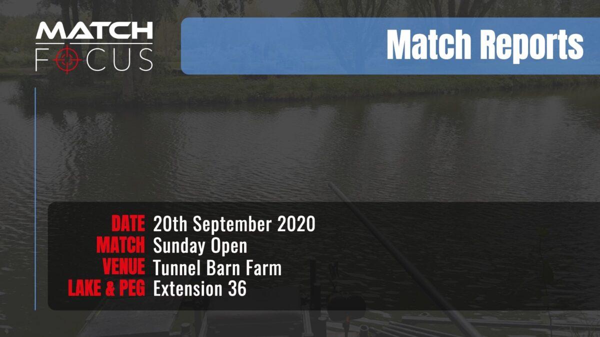 Sunday Open – 20th September 2020 Match Report
