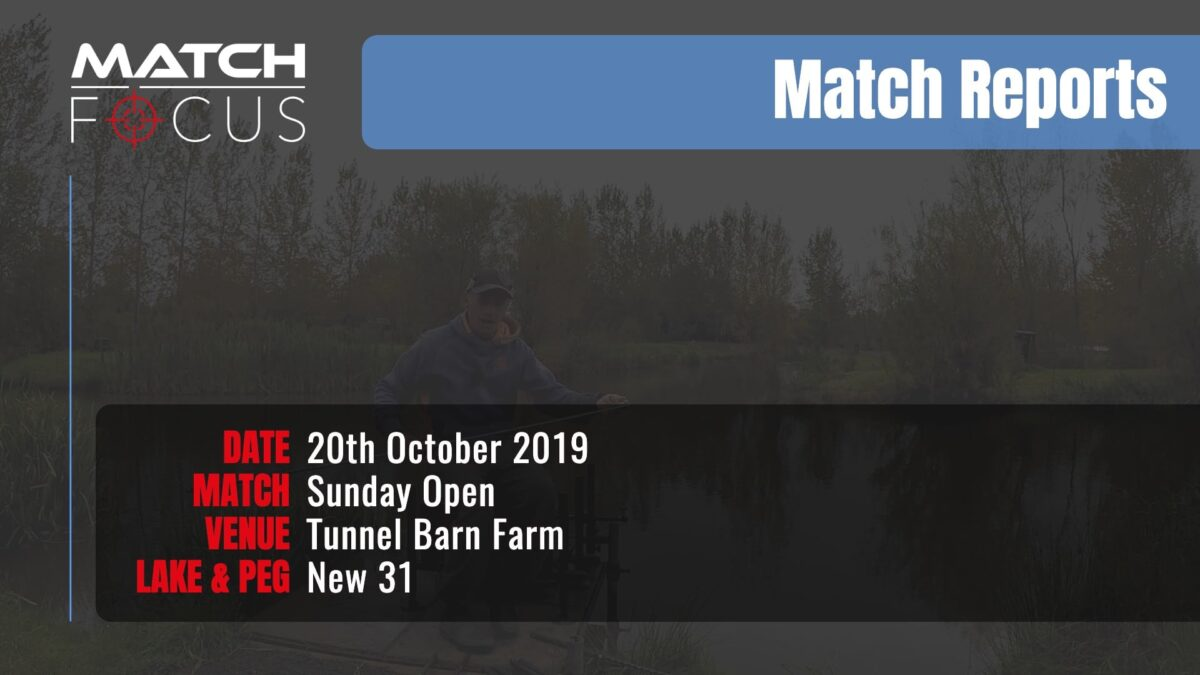 Sunday Open – 20th October 2019 Match Report