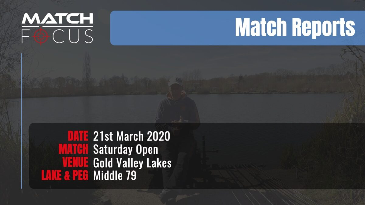 Saturday Open – 21st March 2020 Match Report