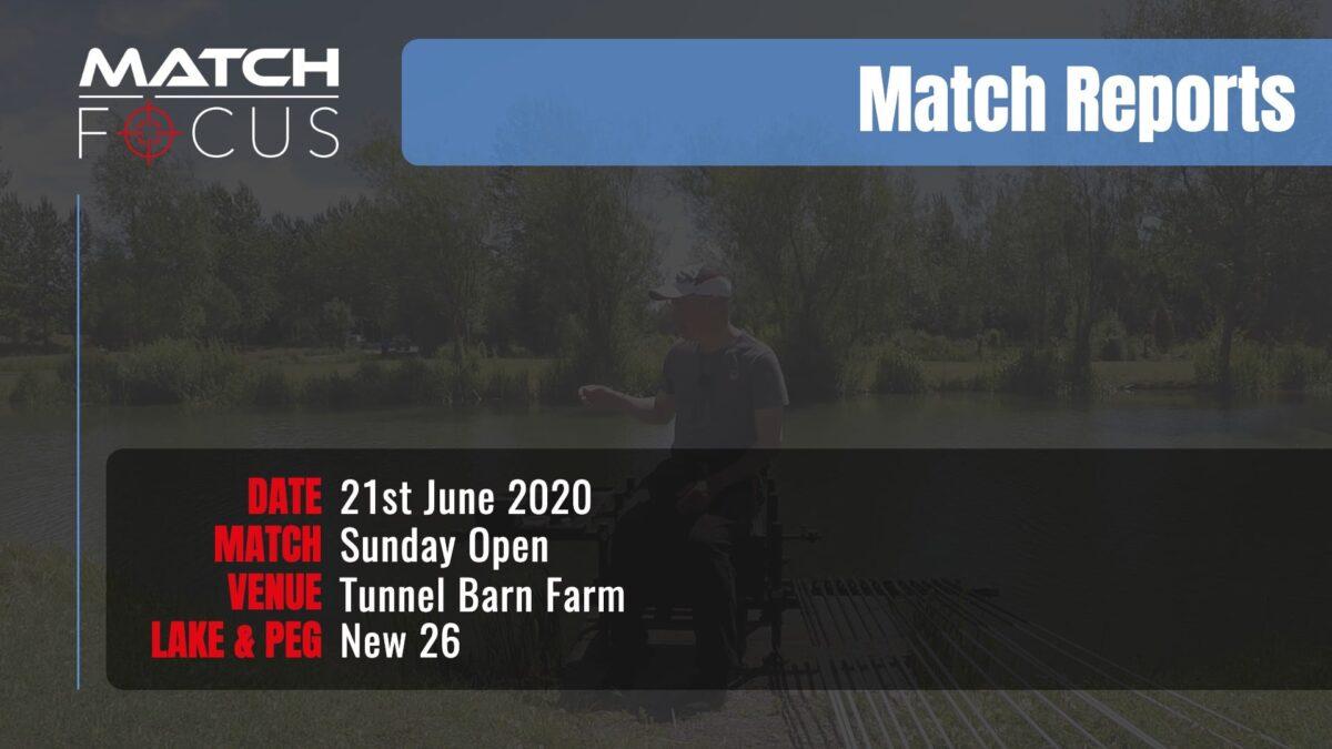 Sunday Open – 21st June 2020 Match Report