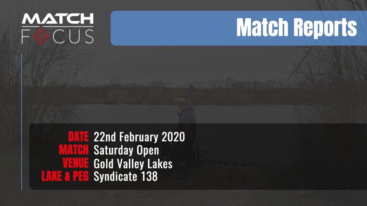 Saturday Open – 22nd February 2020 Match Report