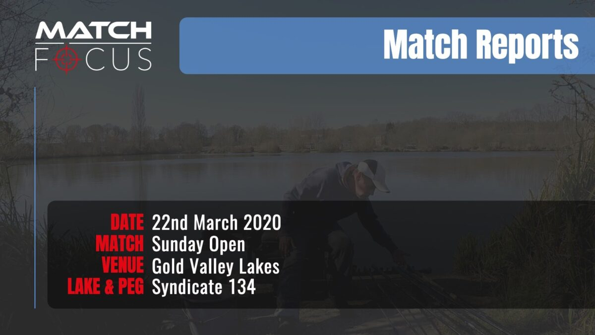 Sunday Open – 22nd March 2020 Match Report