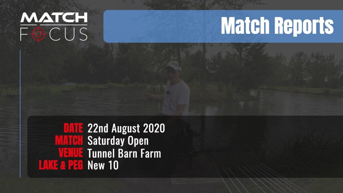 Saturday Open – 22nd August 2020 Match Report