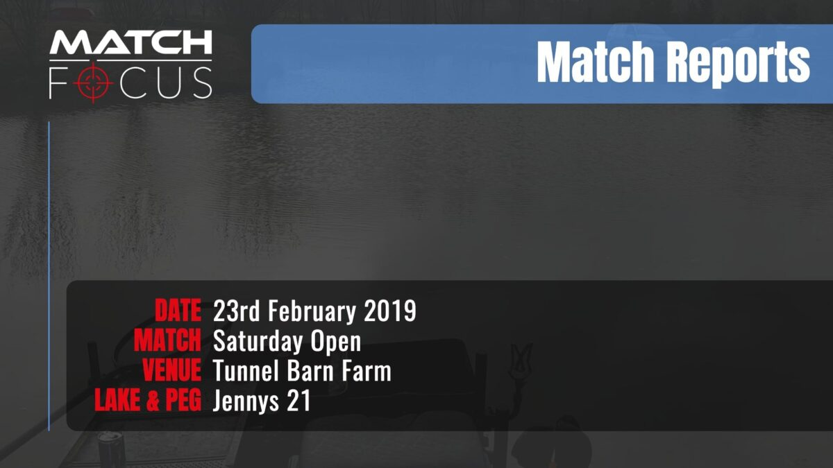Saturday Open – 23rd February 2019 Match Report