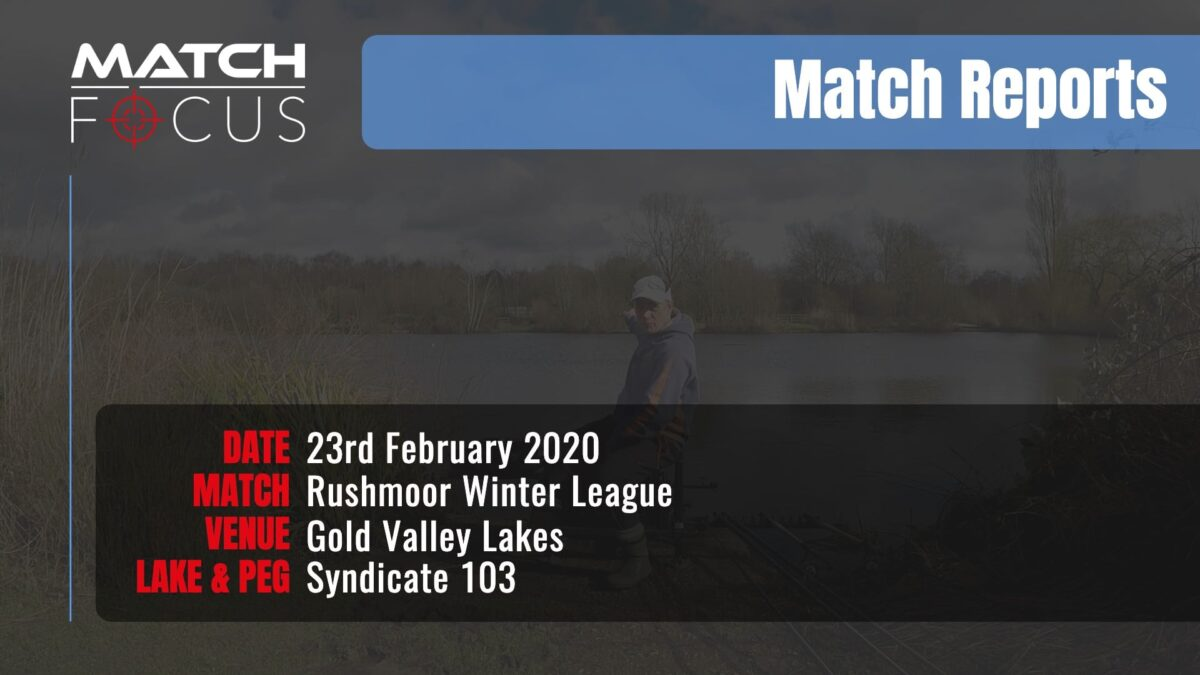 Sunday Rushmoor League Final Round – 23rd February 2020 Match Report