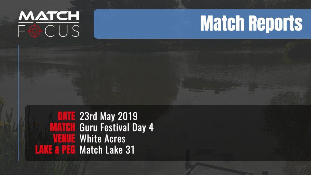 Guru Festival Day 4 – 23rd May 2019 Match Report